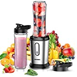 FOCHEA Mixer Smoothie Maker, 500W Mini Standmixer,...